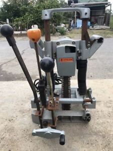 Hitachi Chain Mortiser Cb20a Good Working Condition Fully Functioning 5
