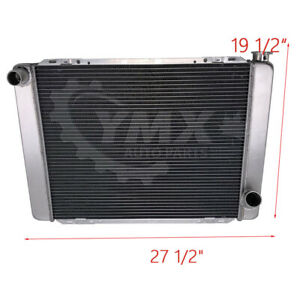 27 X 19 Radiator Small Block Gm Chevy Aluminum Racing Universal Street Hot Rod