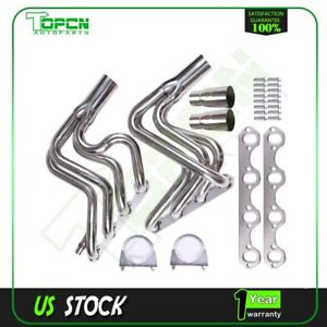 Stainless Steel Header Exhaust Manifold For Ford F 250 f 150 5 8l Ohv