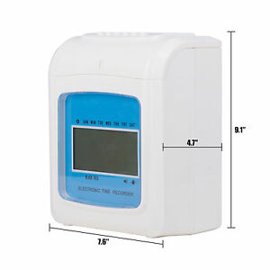 Electronic Employee Analogue Internet Time Recorder Puncher For Small Business