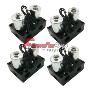 4 3 8 Npt Direct Action Air Valve Manifold Air Ride Suspension Air Bags