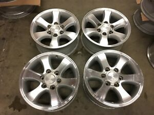 04 09 Toyota 4runner Sport 17 Wheels Tacoma 17 Rims W Lug Nuts