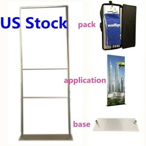 3ft Fabric Tension Trade Show Pop up Booth Displays Tube frame Only Usa