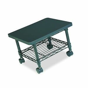 Safco Products Under Desk Printer fax Stand 5206bl Black Powde Free Shipping