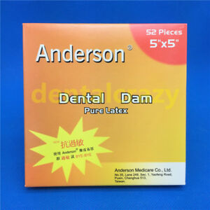 Best 1 Box Of Dental Coltene Hygenic Dental Rubber Dam Natural Rubber Latex