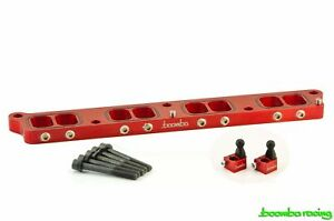 Boomba Racing 2016 Ford Focus Rs Intake Manifold Spacer Red Anodized Finish