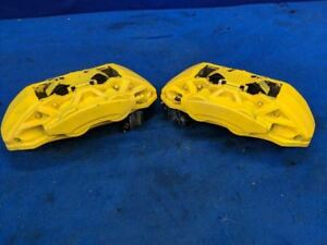 2015 2016 2017 Ford Mustang Front 4 Piston Ecoboost Track Pack 14 Calipers