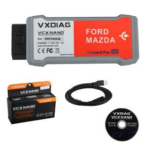 Vxdiag Vcx Nano For Ford mazda 2 In 1 With Ids V108 Replacement For Vcm Ii