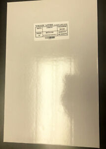 Polyester Laser Plate 11 X 18 1 2 Double Sided 10 000 Impressions 80021