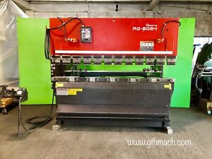 2000 Amada Rg80 24ld Hydraulic Cnc Press Brake