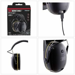 3m Bluetooth Hifi Headset Ear Muffs Worktunes Connect Wireless Hearing Protector