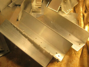 Large Lot Aluminum Angle Short Pieces 2 6 50 Pieces More Or Less