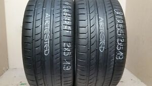 2 Tires 255 35 19 Continental Contisportcontact 5p 62 80 Tread