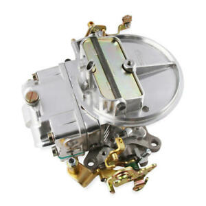 Holley Carburetor 0 4412sa 500 Cfm 2 Barrel Manual Choke Polished Polished