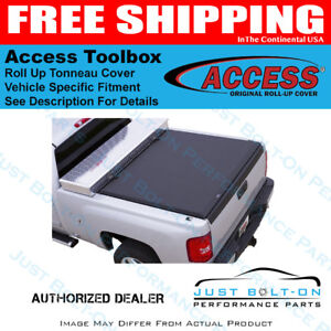 Access Toolbox For 02 08 Dodge Ram 1500 8ft Bed Roll Up Cover 64129