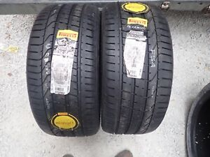 2 New 275 35 21 103y Pirelli Pzero Bl Tires 2817