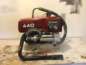 Titan 440i Airless Paint Sprayer