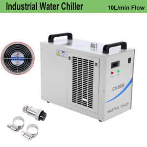 Cw 5000 Water Cooling Chiller Cooler For 80w 100 Co2 Laser Tube Lab Instruments