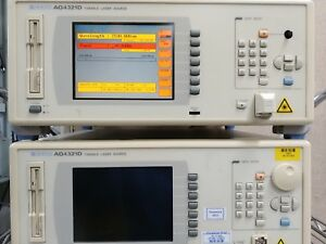 Professionally Tested And Calibrated Ando Aq4321d Tunable C Band Laser Tls