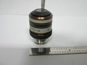 Microscope Objective Wyko Dektak Rx40 Mirau Interferometer Optics As Is Bn f5 16