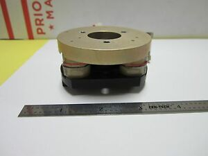 Microscope Part Optical Wyko Phase Shifter Pzt Stack Lens Optics As Is Bin g7 09