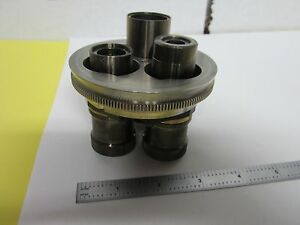 Microscope Part Wyko Objective Turret Interferometer Optics As Is Bin h6 22