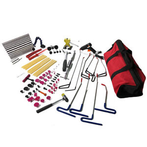 92pc Pdr Repair Tools Slide Hammer Puller Tab Paintless Dent Removal Lifter Kit