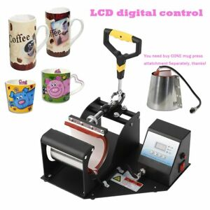 Transfer Sublimation Cup Coffee Mug Heat Press Printing Machine Digital V3 0 Lcd