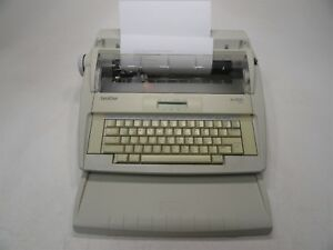 Brother Ml300 Electronic Display Daisy Wheel Typewriter W test Page