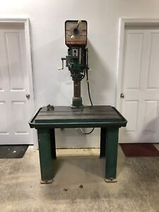 Powermatic Drill Press Model 1200 With Single Phase 1 Hp Motor