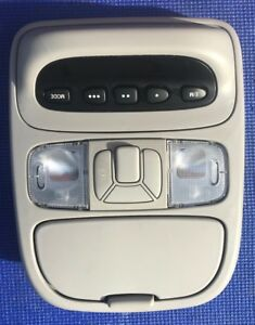 2004 2010 Toyota Sienna Digital Overhead Console Map Light Homelink Gray
