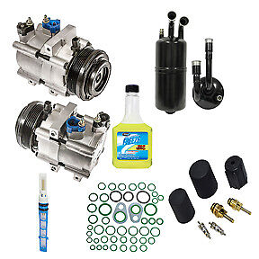New Ac A C Compressor Kit Fits 2007 2008 2009 Ford Mustang 4 6l Engines Only