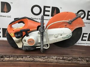 Stihl Ts420 Concrete Cut off Saw W 12 Blade Great Shape Demo Saw Fast Ship