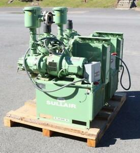 Sullair Rsvs80 ac Rotary Screw Vacuum System 5 Hp 1725 Rpm