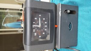 Lathem Time Company Manual Time Clock Day Of Week Hours Minute