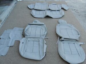 Leather Seat Covers Interior Upholstery Fits Chevy Cruze Eco 2011 Grey J205