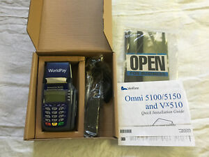 Verifone Omni 5100 5150 And Vx510 Credit Card Machine New In Box