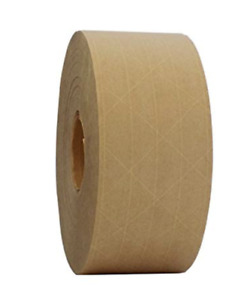 T r u Water Activated Reinforced Kraft Paper Gummed Tape 2 75 Inches Wide