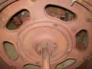 International Farmall 200 Farmall C Tractor Rear Cast Wheelcenter