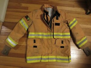 Lion Bodyguard Firefighter 4232r Liberty Coat Drd Harness Nfpa 2007 Edition