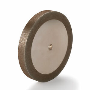 Woodriver 120 grit Cbn Grinding Wheel 6 x 3 4 For Grinders With A 1 2 Arbor