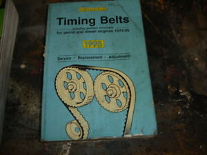 Autodata Car Cam Belt Fitment Book 1995 Very Rare To See At This Age