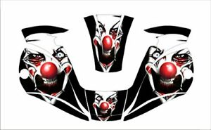 Miller Digital Elite 257213 Welding Helmet Wrap Decal Sticker Jig Welder Clown