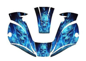 Miller Digital Elite 257213 Welding Helmet Wrap Decal Sticker Jig Welder Blue