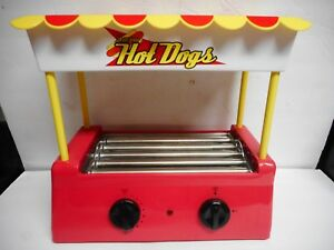 Helman Vintage Old Fashioned Hot Dog Roller Bun Warmer