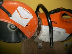 Stihl Ts420 Concrete Cut off Saw W 14 Diamond Tip Blade Runs Strong Nr
