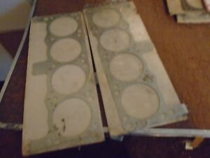 Victor 3444 Head Gaskets Fits Small Block Chrysler 4 14 273 360 Pair