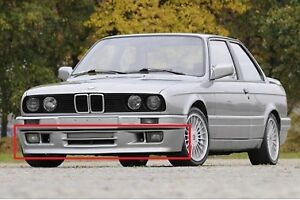 Euro Front Spoiler Bmw E30 M3 Mt2 M Tech Ii Mtech Technic 2 Bumper Body Kit