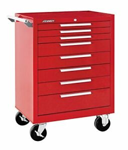 Kennedy Manufacturing 378xr 27 8 drawer Industrial Tool Storage Rolling Cabinet
