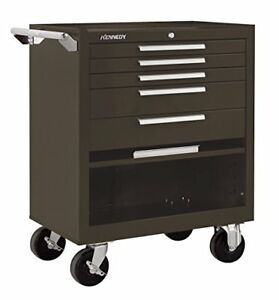 Kennedy Manufacturing 295xb 5 drawer Roller Tool Cabinet With Chest Wheels And